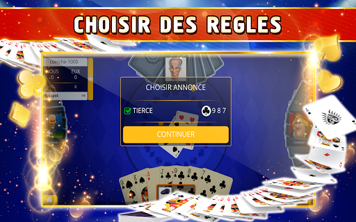 Coinche Offline - Single Player Card Game  screenshots 13