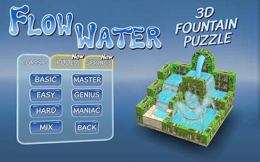 Flow Water Fountain 3D Puzzle 1.2 Screenshots 9