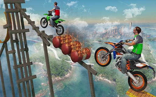 Bike Tricks Trail Stunt Master -Impossible Tracks 11 screenshots 2