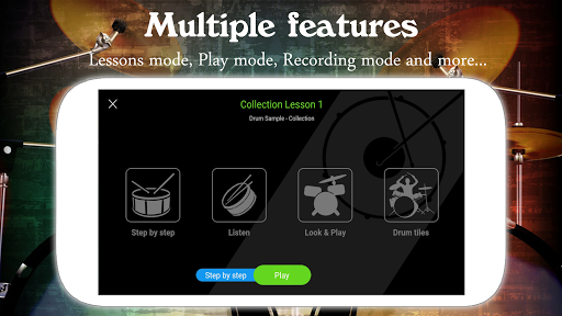 Drum Live: Real drum set drum kit music drum beat 4.2 screenshots 4