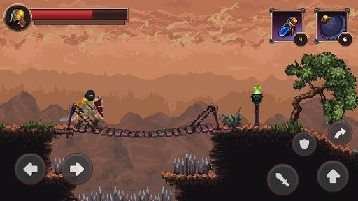 Mortal Crusade: Platformer with Knight Adventure Knight Adventure screenshots 4