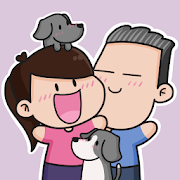 Official Hubman and Chubgirl Stickers for Whatsapp