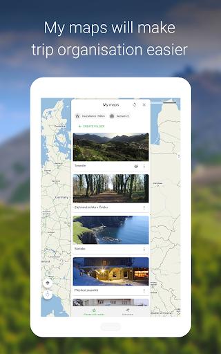 Mapy.cz - Cycling & Hiking offline maps 7.6.1 Screenshots 21