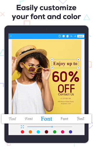 Poster Maker 2021 - Create Flyers & Posters  Screenshots 20