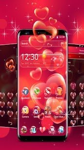 Red Heart Love Theme For Pc – Free Download For Windows 7, 8, 10 Or Mac Os X 2