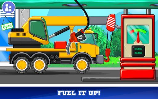 Kids Cars Games! Build a car and truck wash!  screenshots 18