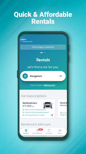 Revv App - Self Drive Car Rental Services in India android2mod screenshots 5
