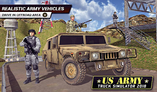 US Army Truck Driving 2018: Real Military Truck 3D apkpoly screenshots 15
