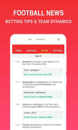 O Football - Betting Predictions & Tips 2.6 Screenshots 11
