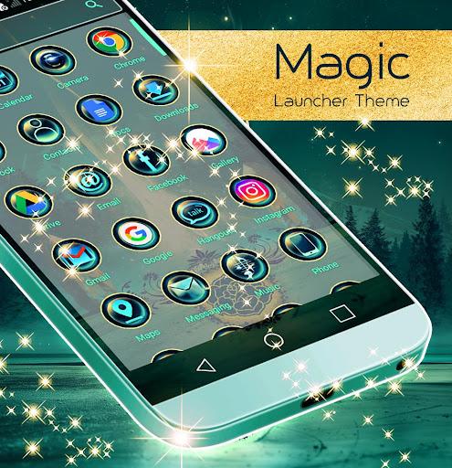 Magic Launcher Theme  screenshots 2