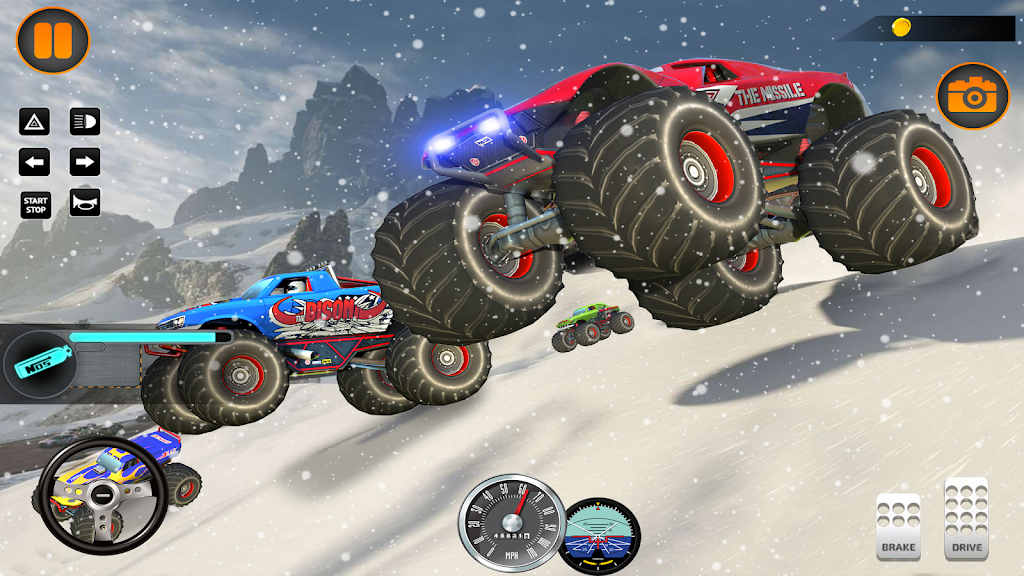 Monster Truck Off Road Racing 2020: Offroad Games  poster 4