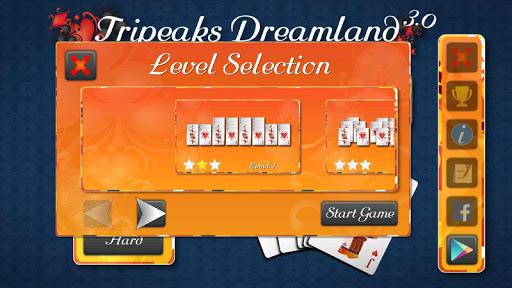 tripeaks dreamland screenshot 3