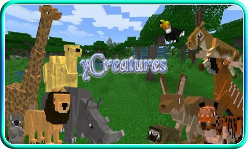 Creatures Craft Mod for Minecraft PE apkdebit screenshots 2