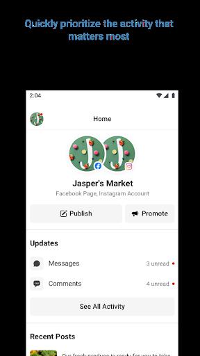 Facebook Business Suite (Pages Manager) apktram screenshots 3