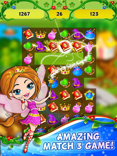 Fairy Tale ud83cudf1f Match 3 Games apkpoly screenshots 6