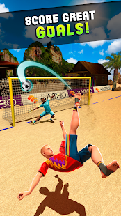Shoot Goal - Beach Soccer Game Screenshot