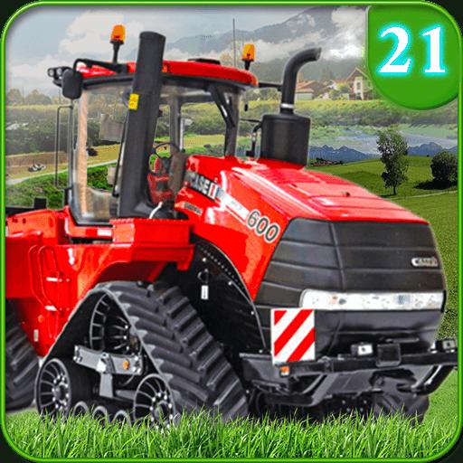 Ray's Farming Simulator 2021 Real Tractor Drive