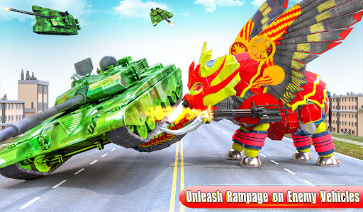 Flying Monster Truck Transform Elephant Robot Game 2.0.9 Screenshots 7
