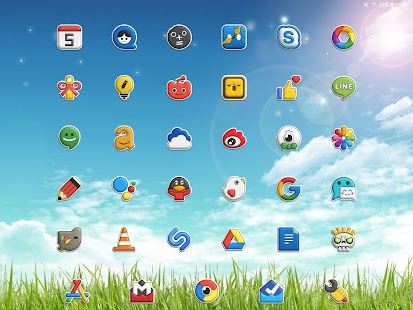 Poppin icon pack Screenshot
