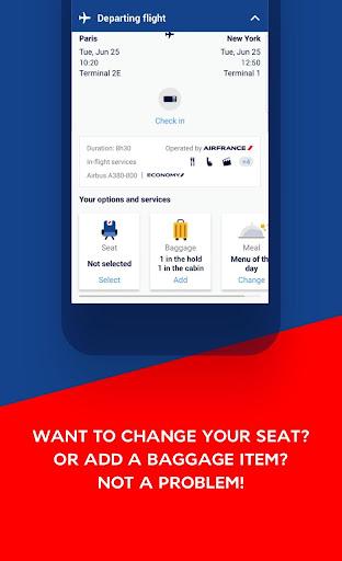 Air France - Airline tickets 5.1.0 Screenshots 4