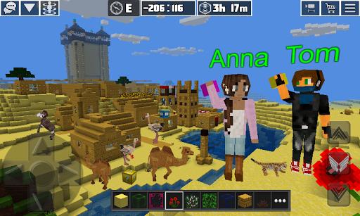 PlanetCraft: Block Craft Games apkpoly screenshots 4
