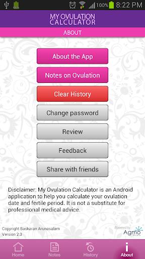 My Ovulation Calculator 3.4.3 screenshots 7