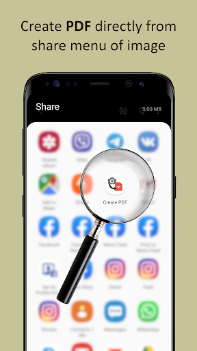 Photo to PDF u2013 One-click Converter android2mod screenshots 2