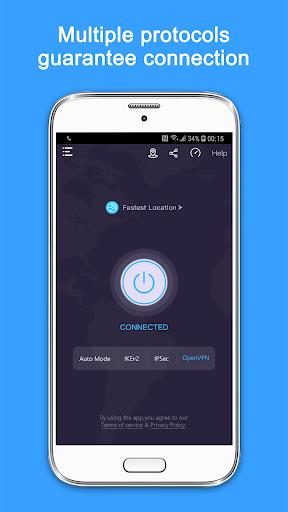 VPN Super - Free VPN Proxy Server & Secure App Screenshots 3