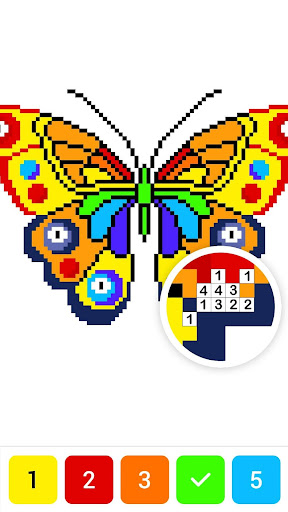 Draw.ly - Color by Number Pixel Art Magic Coloring 3.0.9 screenshots 6