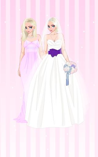 u2744 Icy Wedding u2744 Winter frozen Bride dress up game 1.0.0 screenshots 2