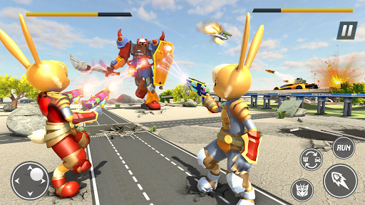 Bunny Jeep Robot Game: Robot Transforming Games  Screenshots 3