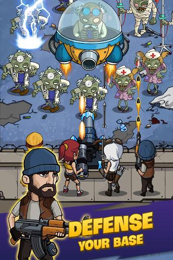 Zombie War: Idle Defense Game  screenshots 18