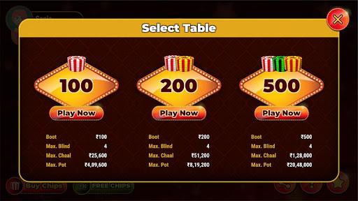 3 Patti Online Game 2021 :New 3 Patti Indian Poker 2.1 2