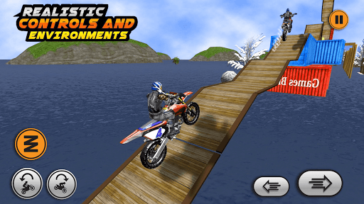 Xtreme trail: 3D Racing - Offline Dirt Bike Stunts android2mod screenshots 1