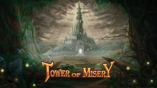 Tower of Misery: Endless Clicker of Dungeons android2mod screenshots 1