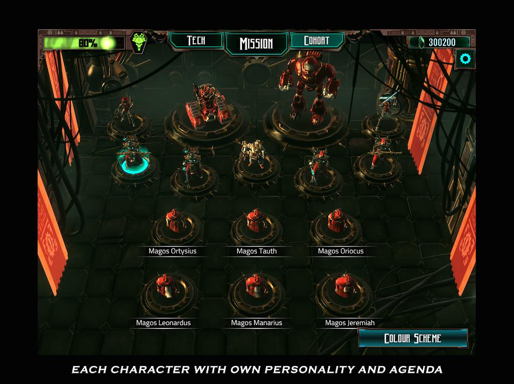 Warhammer 40,000: Mechanicus poster 2