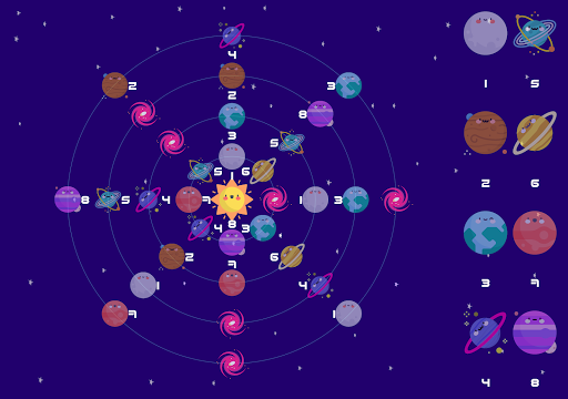 Orbit Balance - Puzzle game - Sudoku goes to space 1.13 screenshots 16