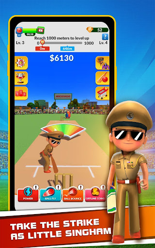 Little Singham Cricket  screenshots 16