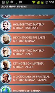 Materia Medica Lite