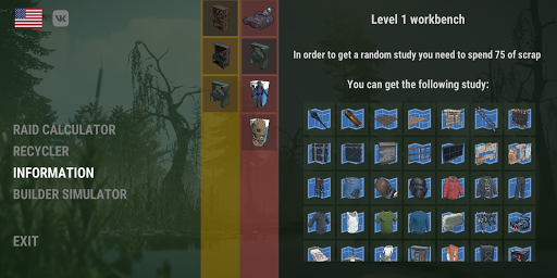Rust Helper : Raid Calculator + Builder Simulator 0.3.1 screenshots 5