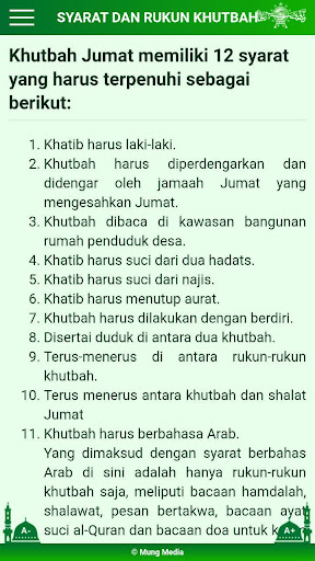 Khutbah Jumat NU modavailable screenshots 3