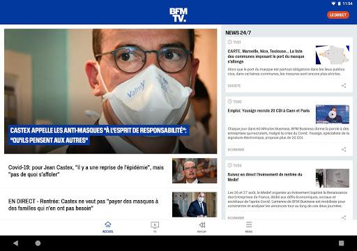 BFMTV - Actualitu00e9s France et monde & alertes info 7.2.0 Screenshots 9