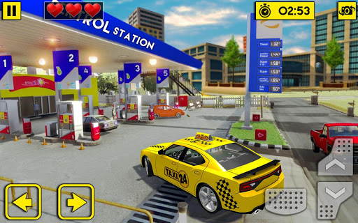City Taxi Driving Sim 2020: Free Cab Driver Games android2mod screenshots 20