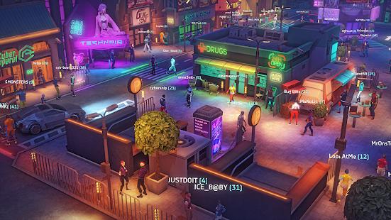 Cyberika: RPG cyberpunk action screenshots apk mod 5