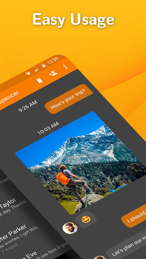 Simple SMS Messenger: SMS and MMS messaging app  screenshots 2