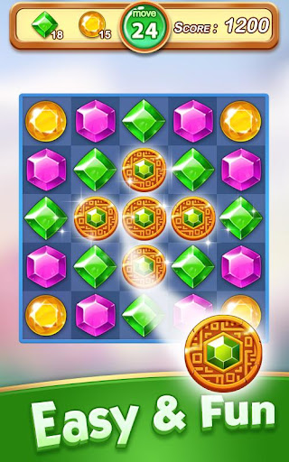 Jewel & Gem Blast - Match 3 Puzzle Game 2.5.1 screenshots 18
