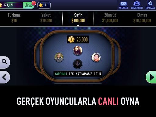 101 Yu00fczbir Okey Elit 1.4.4 screenshots 8