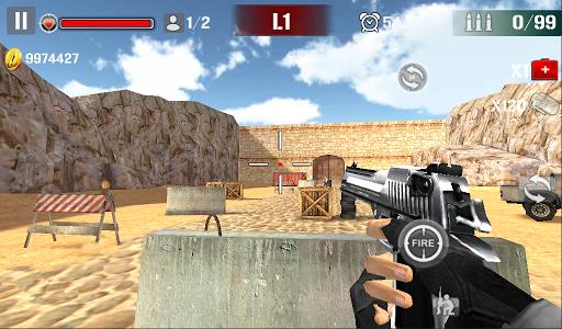 Sniper Shoot Fire War 1.2.5 screenshots 1