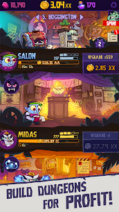 Dungeon Inc Idle Clicker MOD Apk 1.12.0 (Free Shopping) 1