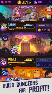 Dungeon, Inc.: Idle Clicker Screenshot